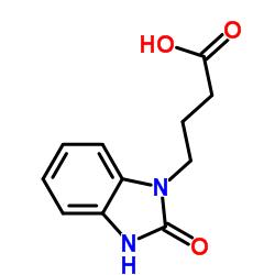 4-(2-oxo-3H-benzimidazol-1-yl)butanoic acid