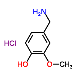 4-Hydroxy-3-methoxybenzylamine hydrochloride