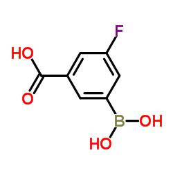 3-Borono-5-fluorobenzoic acid