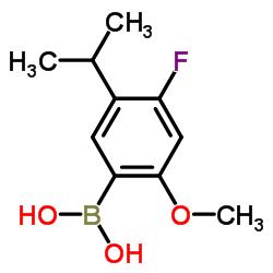 (4-Fluoro-5-isopropyl-2-methoxyphenyl)boronic acid