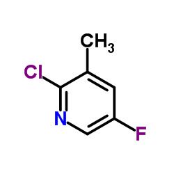2-クロロ-5-フルオロ-3-メチルピリジン