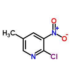 2-Chloro-5-methyl-3-nitropyridine