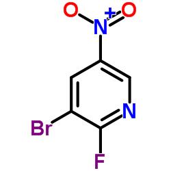 3-Bromo-2-fluoro-5-nitropyridine