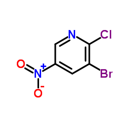 3-Bromo-2-chloro-5-nitropyridine
