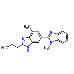 2-n-Propyl-4-Methyl-6-(1'-Methylbenzimidazol-2'-yl)Benzimidazole