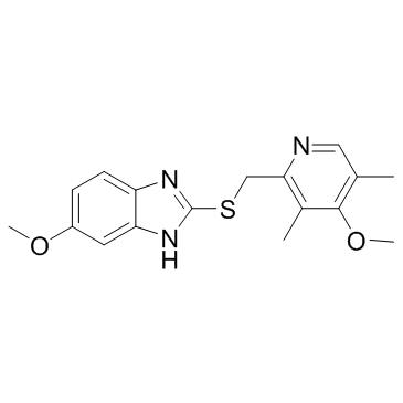 6-methoxy-2-[(4-methoxy-3,5-dimethylpyridin-2-yl)methylsulfanyl]-1H-benzimidazole