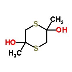 2,5-Dimethyl-1,4-dithiane-2,5-diol