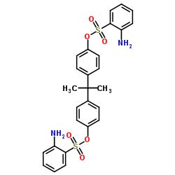2-Aminobenzenesulfonic acid (1-methylethylidene)di-4,1-phenylene ester