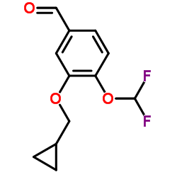 3-(Cyclopropylmethoxy)-4-(difluoromethoxy)benzaldehyde