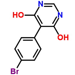 5-(4-bromophenyl)pyrimidine-4,6-diol
