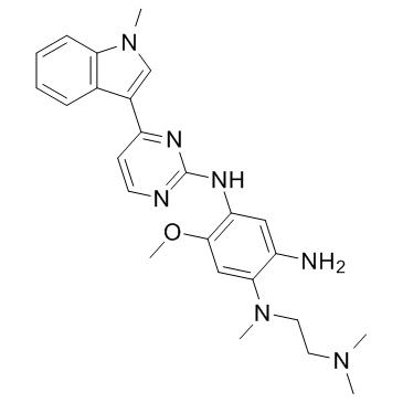 N1-(2-(dimethylamino)ethyl)-5-methoxy-N1-methyl-N4-(4-(1-methyl-1H-indol-3-yl)pyrimidin-2-yl)benzene-1,2,4-triamine