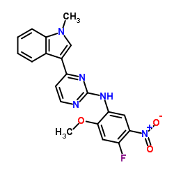 N-(4-Fluoro-2-methoxy-5-nitrophenyl)-4-(1-methyl-1H-indol-3-yl)-2-pyrimidinamine