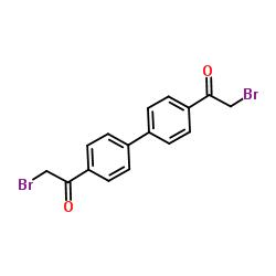 2-bromo-1-[4-[4-(2-bromoacetyl)phenyl]phenyl]ethanone