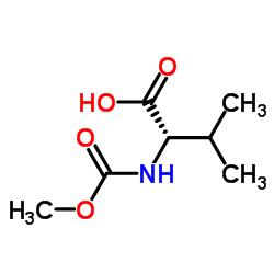 (S)-2-((メトキシカルボニル)アミノ)-3-メチルブタン酸