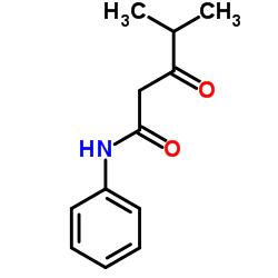 4-Methyl-3-oxopentanoic acid anilide