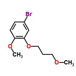4-Bromo-1-methoxy-2-(3-methoxypropoxy)benzene