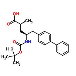 (2R,4S)-5-(Biphenyl-4-yl)-4-[(tert-butoxycarbonyl)amino]-2-methylpentanoic acid