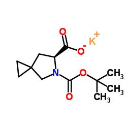 (6S)-5-Azaspiro[2.4]heptane-5,6-dicarboxylic acid 5-(1,1-dimethylethyl) ester potassium salt