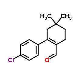 2-(4-クロロフェニル)-4,4-ジメチル-1-シクロヘキセン-1-カルボキシアルデヒド