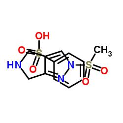 ピロロ[3,4-c]ピラゾール、2,4,5,6-6-テトラヒドロ-2-(メチルスルホニル)-、ベンゼンスルホン酸塩