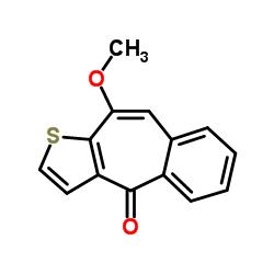 10-Methoxy-4H-benzo[4,5]cyclohepta[1,2-b]thiophen-4-one