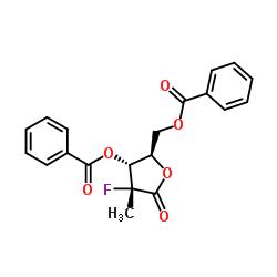 (2R)-2-デオキシ-2-フルオロ-2-メチル-D-エリスロペントン酸ガンマラクトン3,5-ジベンゾエート
