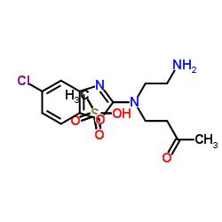 4-[(2-Aminoethyl)(5-chloro-2-benzoxazolyl)amino]-2-butanone methanesulfonate