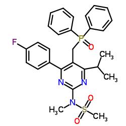 N-[5-(diphenylphosphorylmethyl)-4-(4-fluorophenyl)-6-propan-2-ylpyrimidin-2-yl]-N-methylmethanesulfonamide