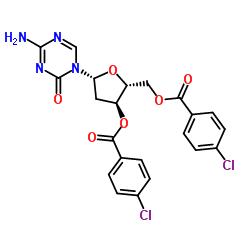 3 '、5'-ビス-O-(4-クロロベンゾイル)-2-デオキシ-5-アザシトシン