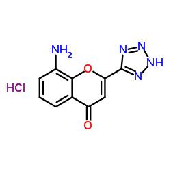 8-アミノ-2-(2H-テトラゾール-5-イル)クロメン-4-オン、塩酸塩