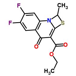 Ethyl 6,7-difluoro-1-methyl-4-oxo-1,4-dihydro-[1,3]thiazeto[3,2-a]quinoline-3-carboxylate
