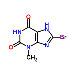 8-Bromo-3-methyl-1H-purine-2,6(3H,7H)-dione