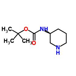 tert-butyl N-[(3S)-piperidin-3-yl]carbamate