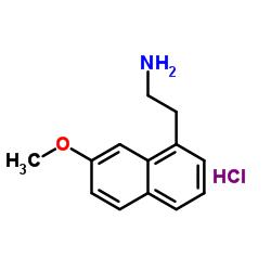 2-(7-メトキシナフタレン-1-イル)エタンアミン、塩酸塩