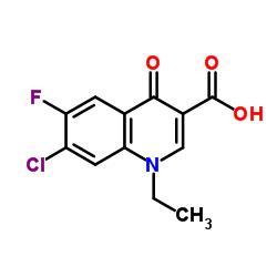 7-Chloro-1-ethyl-6-fluoro-1,4-dihydro-4-oxoquinoline-3-carboxylic acid