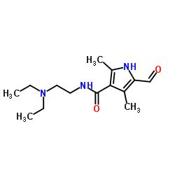 N-[2-(diethylamino)ethyl]-5-formyl-2,4-dimethyl-1H-pyrrole-3-carboxamide