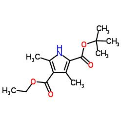 3,5-DimEthylpyrrole-2,4-Dicarboxylic Acid 2-t-Butyl Ester-4-Ethyl Ester