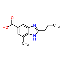 6-Carboxy-4-methyl-2-propylbenzimidazole