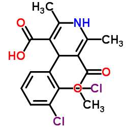 4-(2,3-ジクロロフェニル)-5-(メトキシカルボニル)-2,6-ジメチル-1,4-ジヒドロ-3-ピリジンカルボン酸