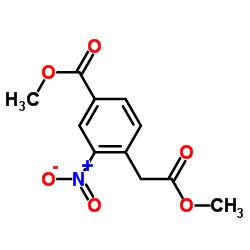 Methyl 4-(2-methoxy-2-oxoethyl)-3-nitrobenzoate