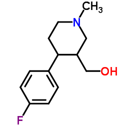 4-(4-Fluorophenyl)-3-HydroxyMethyl-1-Methyl-Piperidine