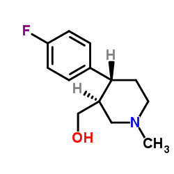 (3S,4R)-4-(4-Fluorophenyl)-3-Hydroxymethyl-1-Methylpiperidine