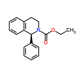 ethyl (1S)-1-phenyl-3,4-dihydro-1H-isoquinoline-2-carboxylate
