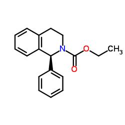 (1S)-1-フェニル-3,4-ジヒドロ-1H-イソキノリン-2-カルボン酸エチル