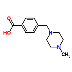 4-[(4-Methyl-1-piperazinyl)methyl]benzoic acid