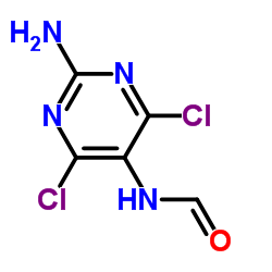 N-(2-Amino-4,6-dichloro-5-pyrimidinyl)formamide