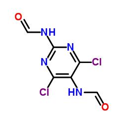 N,N'-(4,6-Dichloropyrimidine-2,5-diyl)diformamide