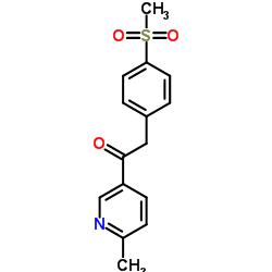 1-(6-メチルピリジン-3-イル)-2- [4-(メチルスルホニル)フェニル]エタノン
