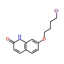 7-(4-Chlorobutoxy)quinolin-2(1H)-one