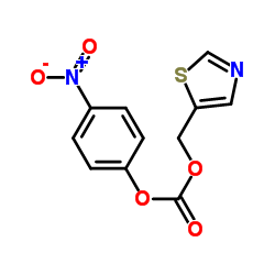 ((5-Thiazolyl)methyl)-(4-nitrophenyl)carbonate